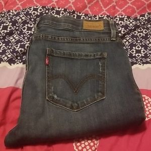 Levies blue Jean's size 10 very cute like new